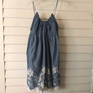 Delia's Lindsay Floral Dress Size XL